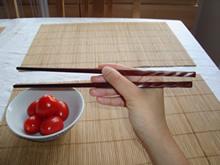 Mit Stäbchen essen - Schritt 2