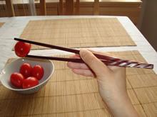Mit Stäbchen essen - Schritt 4
