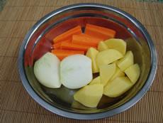 Gemüse für Sundubu