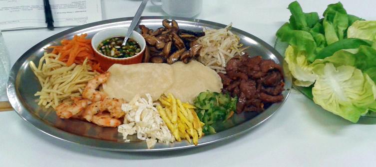 koreanisch kochkurs-gu chul pan