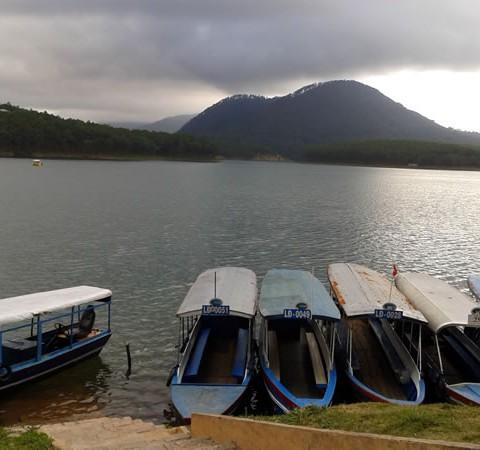 vietnamreise-dalat-See